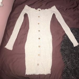 Fashion Nova Jacklyn Off Shoulder Mini Dress